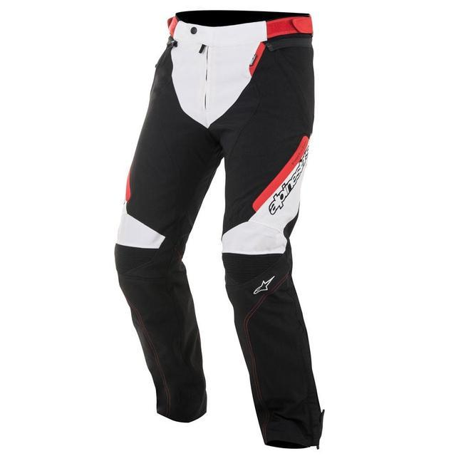 Alpinestars Raider Drystar® Textile Pants Men's Motorcycle Pants Alpinestars Black/White/Red S