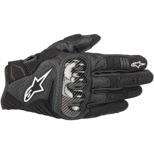 Alpinestars SMX-1 Air V2 Gloves Men's Motorcycle Gloves Alpinestars Black S