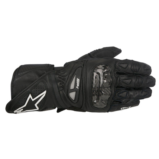 Alpinestars SP-1 Leather Gloves Men's Motorcycle Gloves Alpinestars Black S