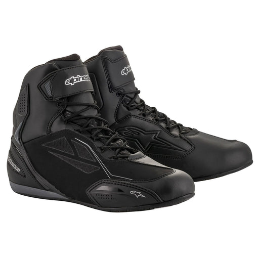 Alpinestars Stella Faster 3 Drystar® Riding Shoes Men's Motorcycle Boots Alpinestars Black/Silver 5