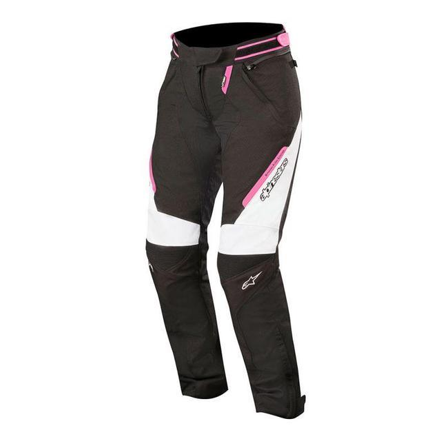 Alpinestars Stella Raider Drystar® Pants Women's Motorcycle Pants Alpinestars Black/White/Fuchsia S