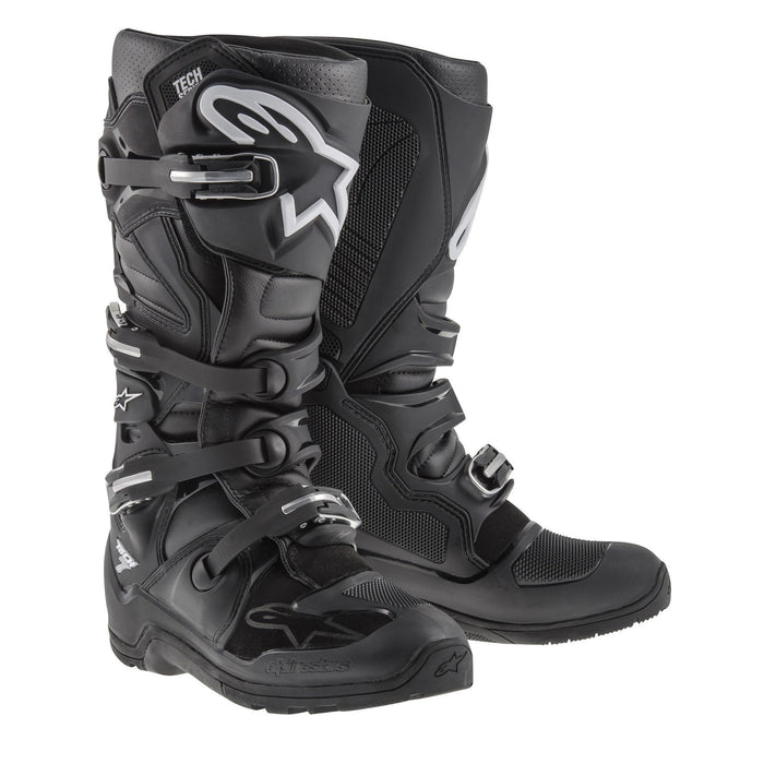 Alpinestars Tech 7 Enduro Boots Motocross Boots Alpinestars Black 7