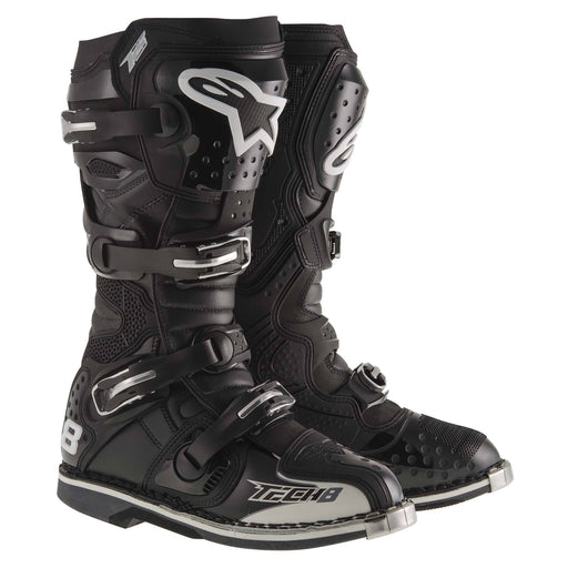 Alpinestars Tech 8 RS Boots Motocross Boots Alpinestars Non-Vented Black 5