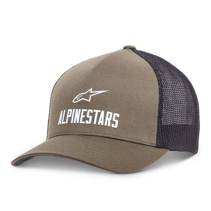 Alpinestars Transfer Hat in Military Green Men's Casual Alpinestars