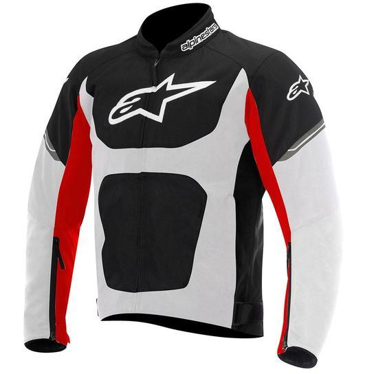 Alpinestars Viper Air Textile Jackets Men's Motorcycle Jackets Alpinestars Black/White/Red S