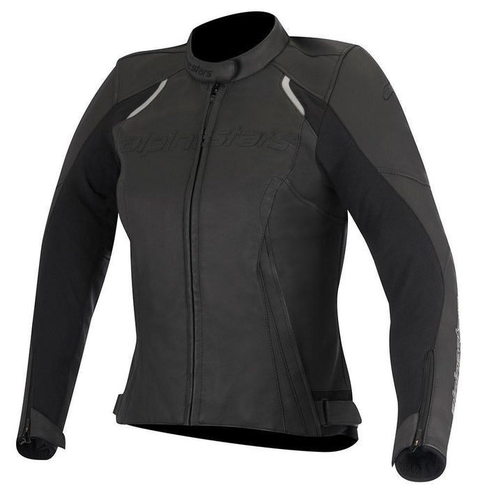 Alpinestars Women's Stella Devon Leather Jacket in Black Women's Motorcycle Jackets Alpinestars