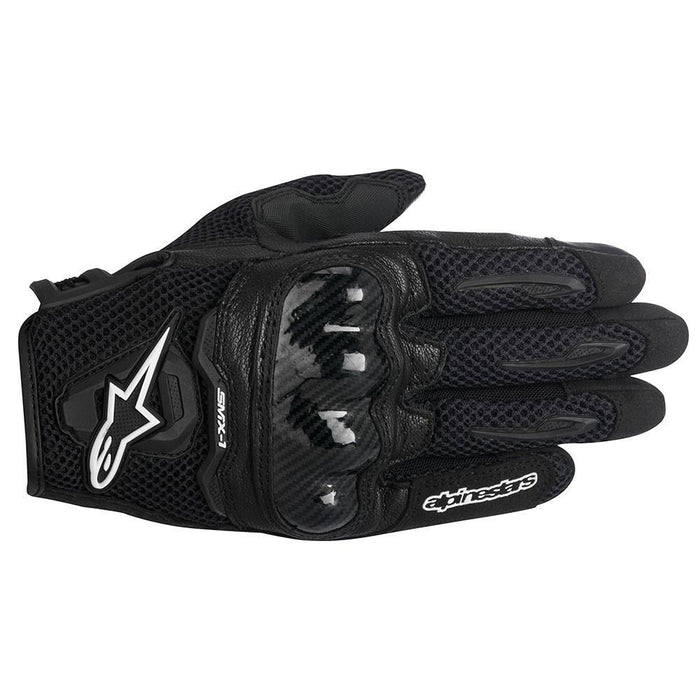 Alpinestars Women's Stella SMX-1 Air Glove in Black Women's Motorcycle Gloves Alpinestars