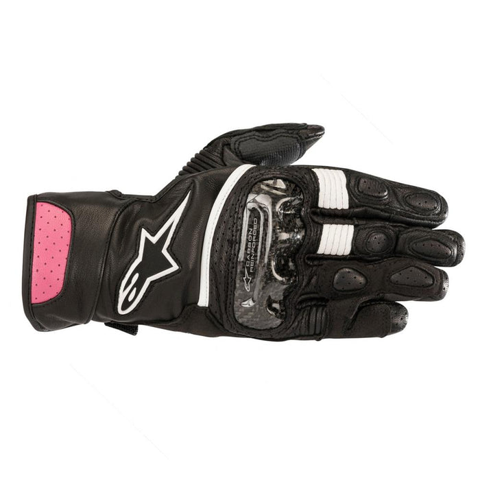 Alpinestars Women's Stella SP-2 V2 Gloves Women's Motorcycle Gloves Alpinestars Black/Fuchsia XS