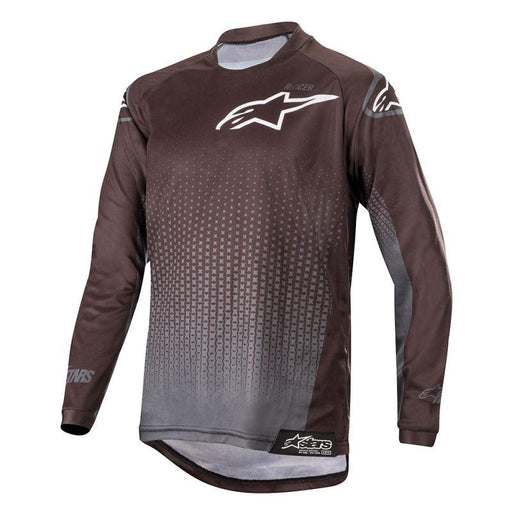 Alpinestars Youth Racer Graphite Jersey Youth Motocross Jerseys Alpinestars