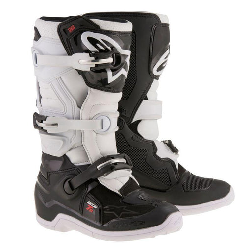 Alpinestars Youth Tech 7S Motocross Boots Motocross Boots Alpinestars Black/White 2