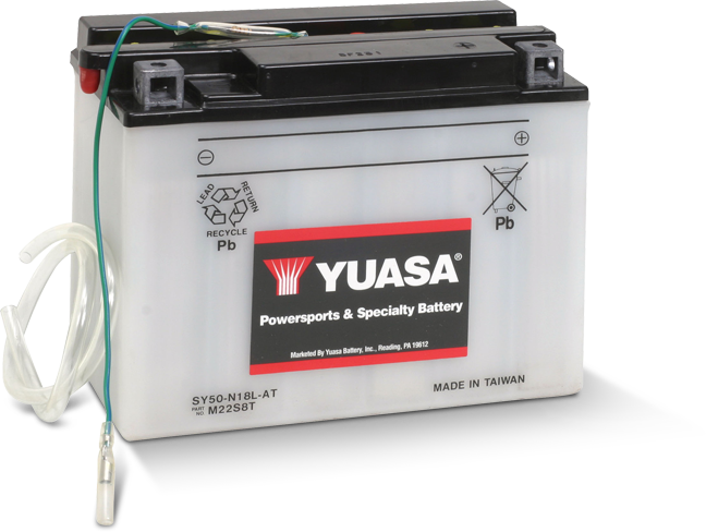 Yuasa Battery SY50-N18L-AT