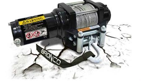 Bronco Generation 1 ATV/UTV Winch ATV/UTV Accessories Bronco 2500lbs