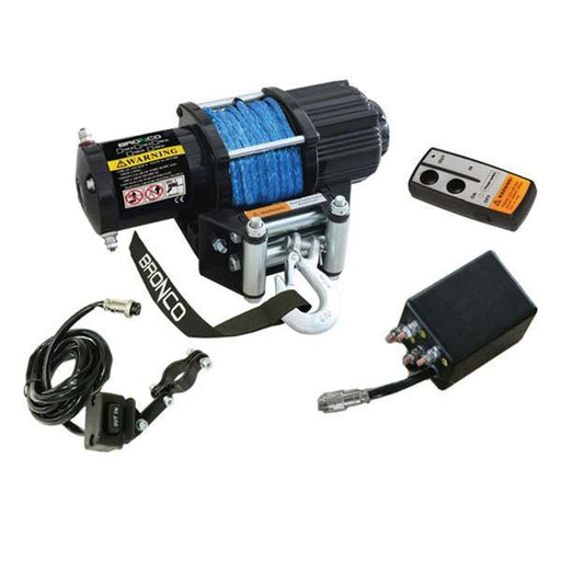 BRONCO GENERATION 2 WIRELESS WINCH ATV/UTV Accessories Bronco 2500lbs
