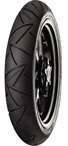 CONTINENTAL CONTI ROAD ATTACK 2 EVO FRONT Motorcycle Tires Continental
