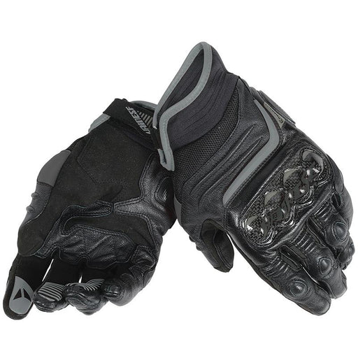 Dainese Carbon D1 Short Gloves Men's Motorcycle Gloves Dainese BLACK/BLACK/BLACK L