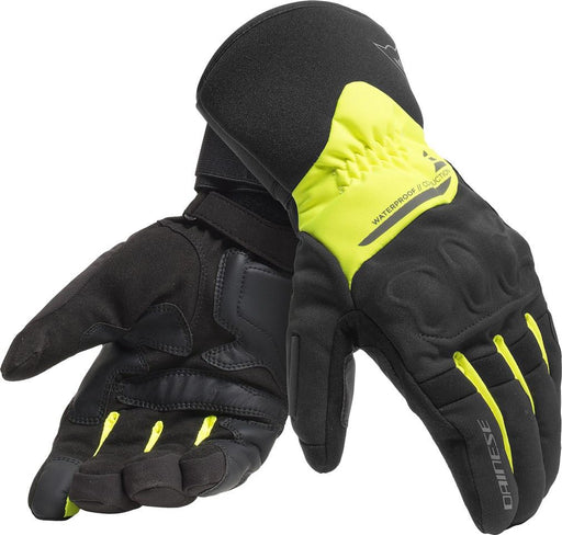 Dainese X-Tourer D-Dry Gloves Men's Motorcycle Gloves Dainese BLACK/FLUO-YELLOW L