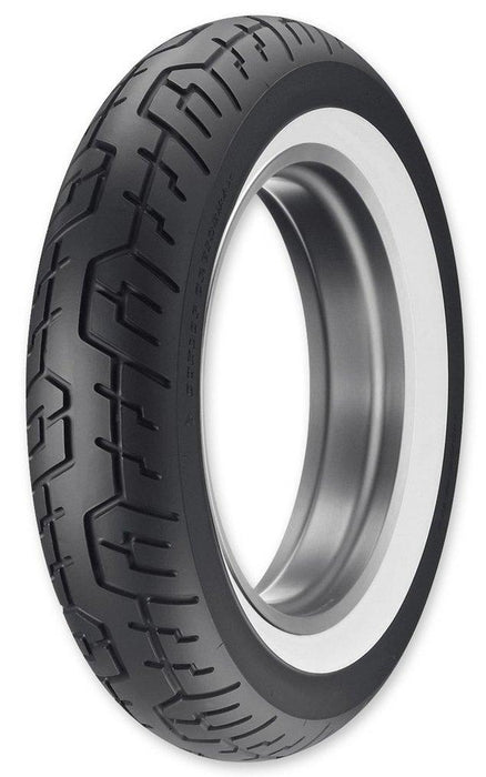 DUNLOP WIDE WHITE WALL CRUISEMAX REAR Motorcycle Tires Dunlop