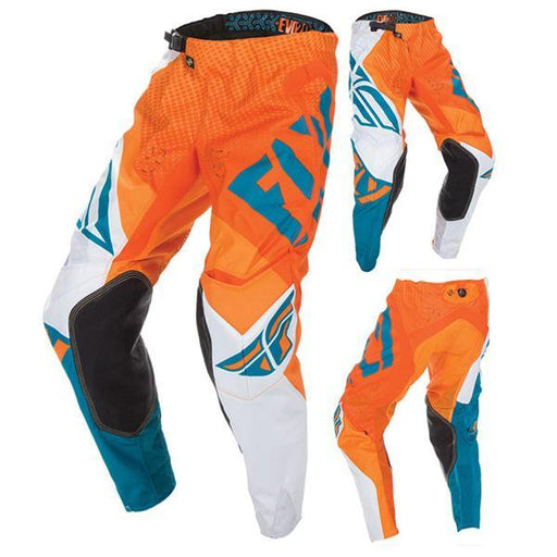 FLY RACING Men's Evolution Pants Orange Men's Motocross Pants Fly Racing