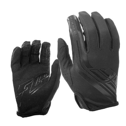 FLY RACING Windproof Lite Glove Black Motocross Gloves Fly Racing