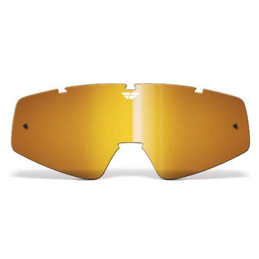 FLY RACING Youth Focus/Zone Lens Amber Youth Motocross Goggles Fly Racing