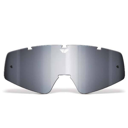 FLY RACING Youth Focus/Zone Lens Chrome/Smoke Youth Motocross Goggles Fly Racing