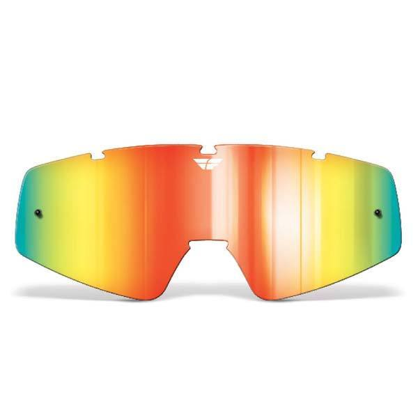 FLY RACING Youth Focus/Zone Lens Mirror/Smoke Youth Motocross Goggles Fly Racing