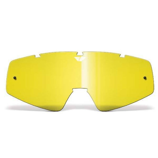 FLY RACING Youth Focus/Zone Lens Yellow Youth Motocross Goggles Fly Racing