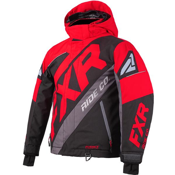 FXR Child/Youth CX Jackets Child & Youth Snowmobile Jackets FXR Lava/Black/Charcoal Child 2