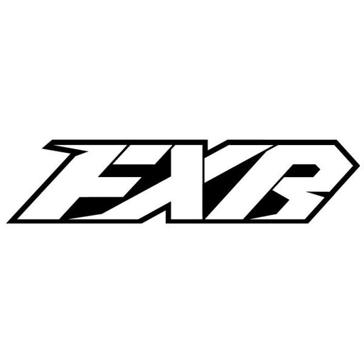 "FXR Evo Stickers CX 6"" Accessories FXR White/Black"