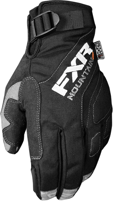 FXR M Attack Lite Glove Black Men's Snowmobile Gloves FXR