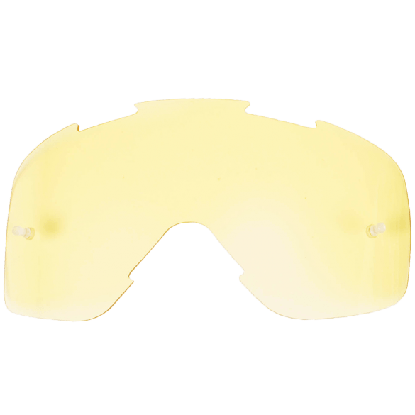 FXR Mission Lens (Fits Yth Throttle) Yellow Youth Motocross Goggles FXR