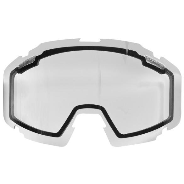 FXR Pilot Single Lens Clear Motocross Goggles FXR