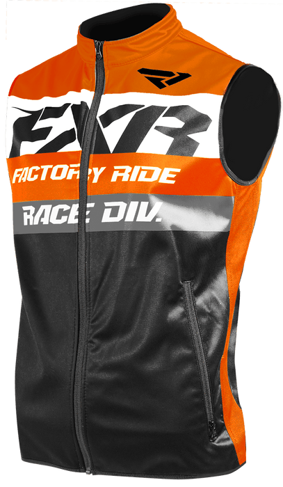 FXR Revo Offroad Vest Orange/Black/White Men's Motocross Jerseys FXR