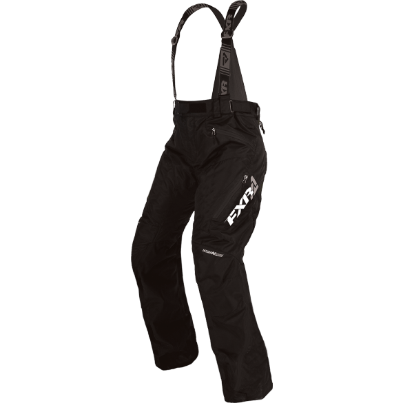 FXR W Vertical Pro Pant (Uninsulated) Black Women's Snowmobile Pants FXR