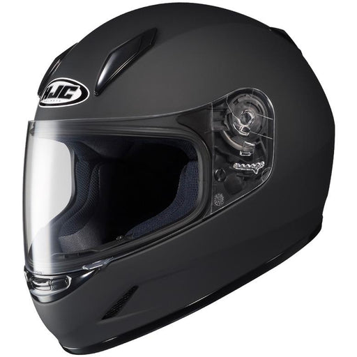 HJC CL-Y Solid Helmets Child & Youth Snowmobile Helmets HJC Matte Black S