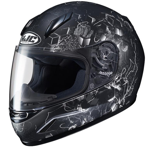HJC CL-Y Vela Helmets Child & Youth Snowmobile Helmets HJC Black/Silver S