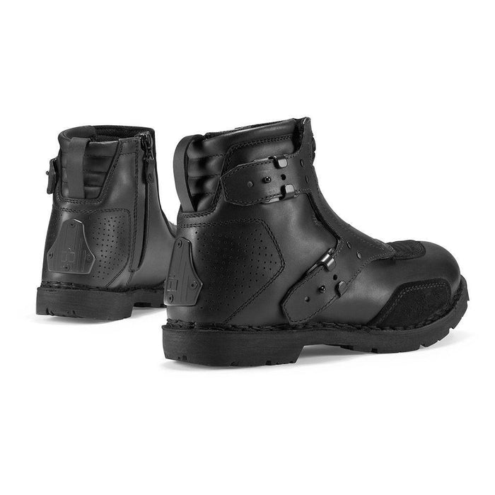 ICON 1000 El Bajo Boots Men's Motorcycle Boots Icon