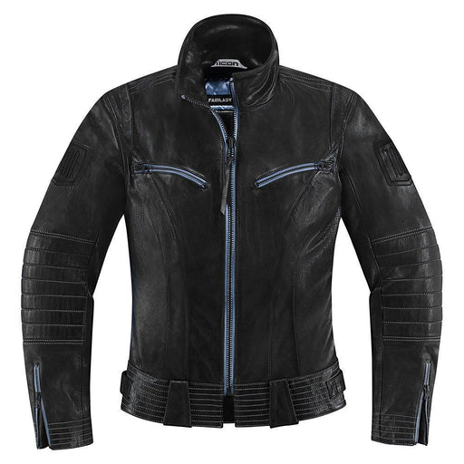 Icon 1000 Fairlady Women's Jackets Women's Motorcycle Jackets Icon Black XS