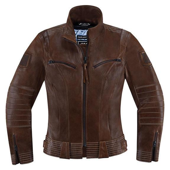 Icon 1000 Fairlady Women's Jackets Women's Motorcycle Jackets Icon Brown XS