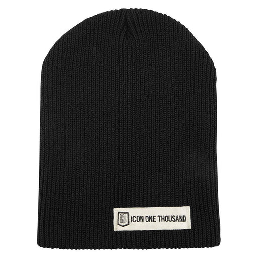 Icon 1000 Inline Beenie in Black Men's Casual Icon