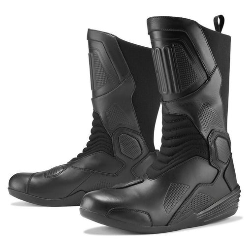 Icon 1000 Joker WP Boots Men's Motorcycle Boots Icon Black 7