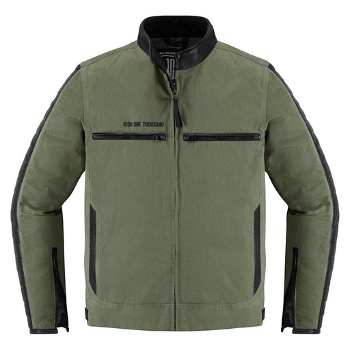 Icon 1000 MH1000 Jackets Men's Motorcycle Jackets Icon Green S