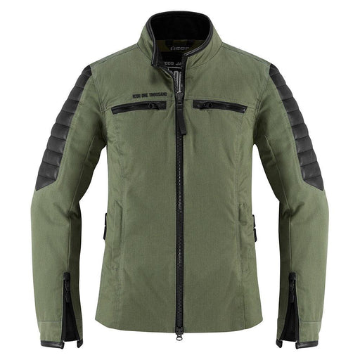 Icon 1000 MH1000 Jackets Women's Motorcycle Jackets Icon Green XS