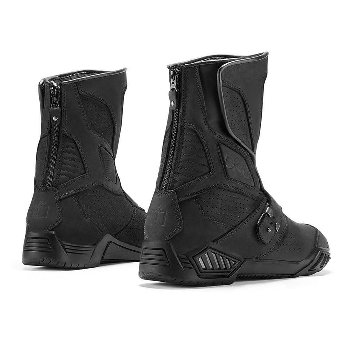 ICON 1000 Retrograde Boots Men's Motorcycle Boots Icon