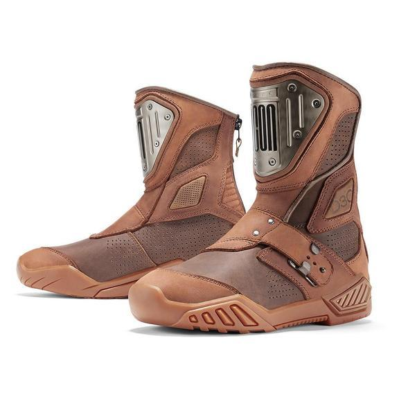 ICON 1000 Retrograde Boots Men's Motorcycle Boots Icon Brown 8.5