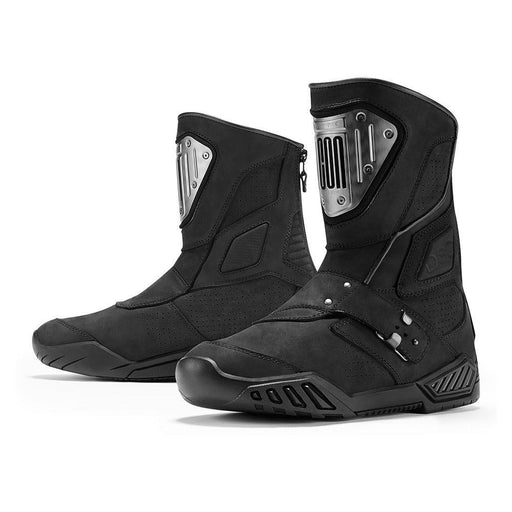 ICON 1000 Retrograde Boots Men's Motorcycle Boots Icon Stealth 8.5