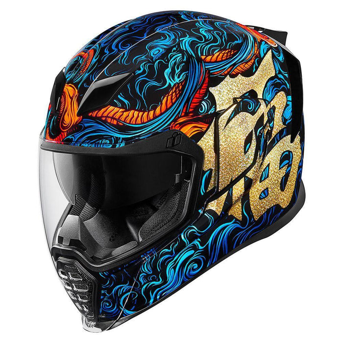 Icon Airflite Good Fortune Helmet Motorcycle Helmets Icon