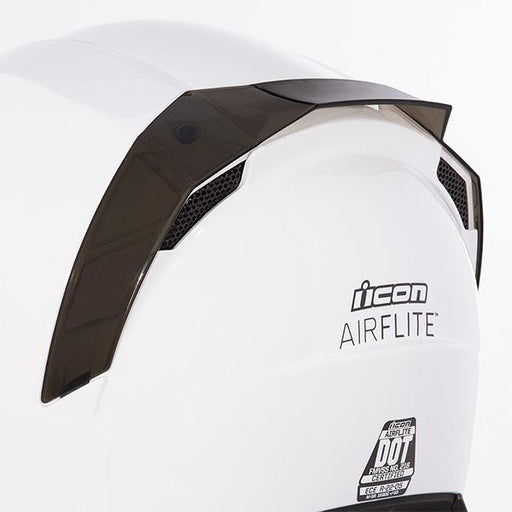 Icon Airflite Rear Spoilers Motorcycle Helmets Icon Smoke