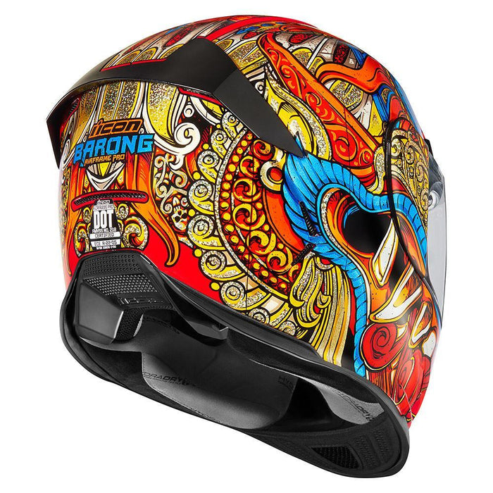 Icon AirFrame Pro Barong Helmet Motorcycle Helmets Icon