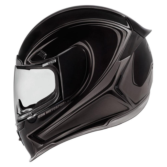 Icon Airframe Pro Halo Helmets Motorcycle Helmets Icon Black XS